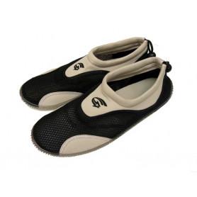 Pánské neoprenové boty do vody, černošedé