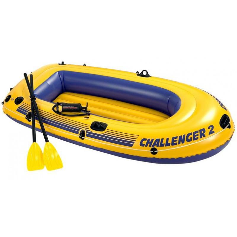 96024f61d1 Nafukovací člun Intex Challenger 2 Boat set - ŽijemeSportem.cz