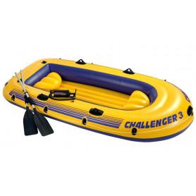 Nafukovací člun Intex Challenger 3 boat set