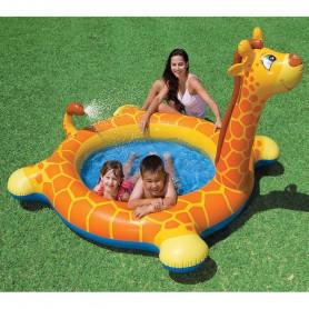Nafukovací bazén se sprchou Intex Žirafa