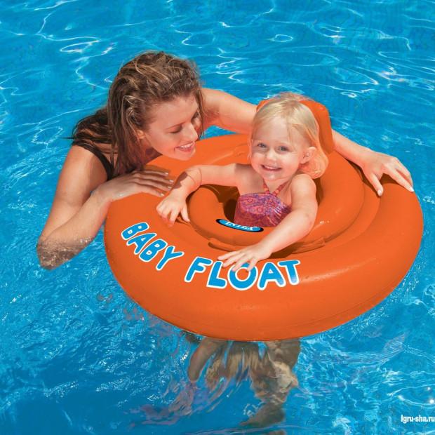 Dětský nafukovací kruh dvojitý MY BABY FLOAT II