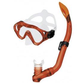 CAYMAN-Sada brýle+šnorchl černý