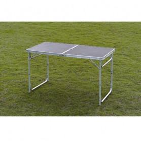 Skládací kempingový stůl 120 x 60 x 70 cm