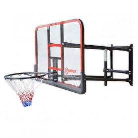 Basketbalová deska MASTER 127 x 71 cm s konstrukcí