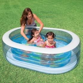 Nafukovací bazén Intex Ovál Fish