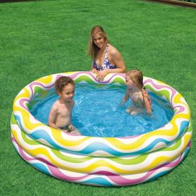 Nafukovací bazén Intex Color Wave