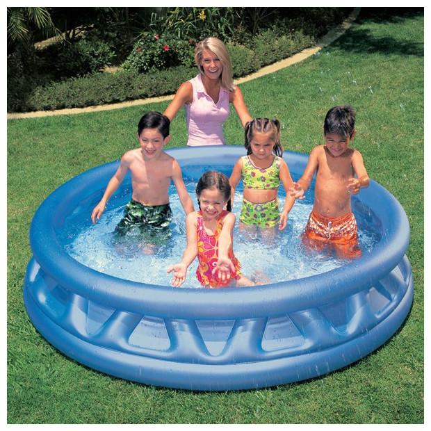Nafukovací bazén Intex Silver 188 x 46 cm