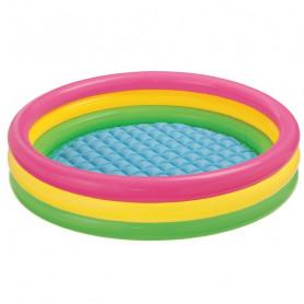 Bazén nafukovací Intex Soft Dno 147 x 33 cm