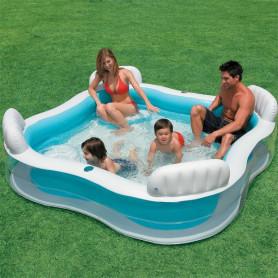 Nafukovací bazén Intex Čtverec 229 x 229 cm