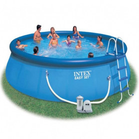 Samostavěcí bazén INTEX EASY SET 457 x 107 cm