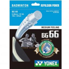 Badmintonový výplet Yonex Micron BG 66 LTD (10 m)