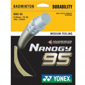 Badmintonový výplet Yonex Nanogy 95 (10 m)