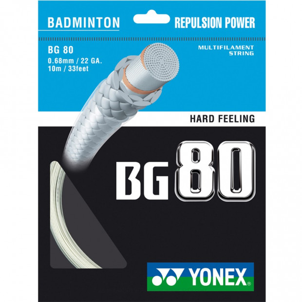 Badmintonový výplet Yonex Micron BG 80 (10 m)