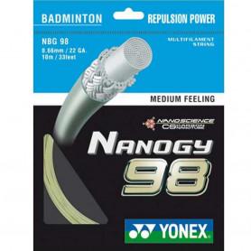 Badmintonový výplet Yonex Nanogy 98 (10 m)