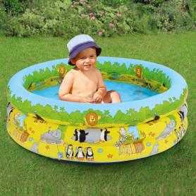 Dětský bazének 4v1 s nafukovacím dnem 70x52 cm
