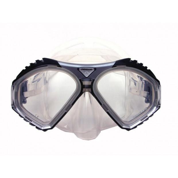 Profi potápěčské brýle Tigullio Condor, silikon senior