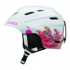 Lyžařská helma Giro Nine.10 Jr white stormy sea
