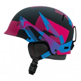 Lyžařská helma Giro Revolver mat black static