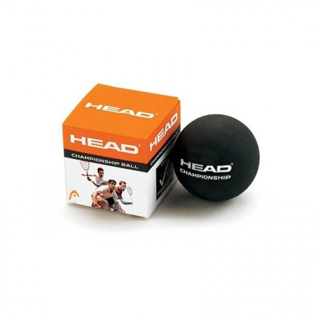 Míček na squash Head Championship - 2 žluté tečky