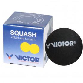 Míček pro squash Victor - 2 žluté tečky