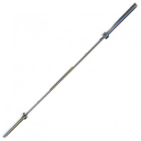 Vzpěračská tyč olympijská rovná - 220 cm do 450 kg