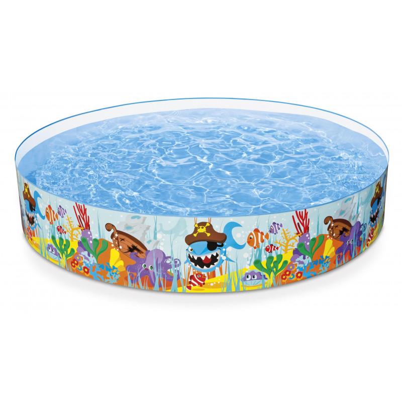 Bazén s pevnou stěnou Intex