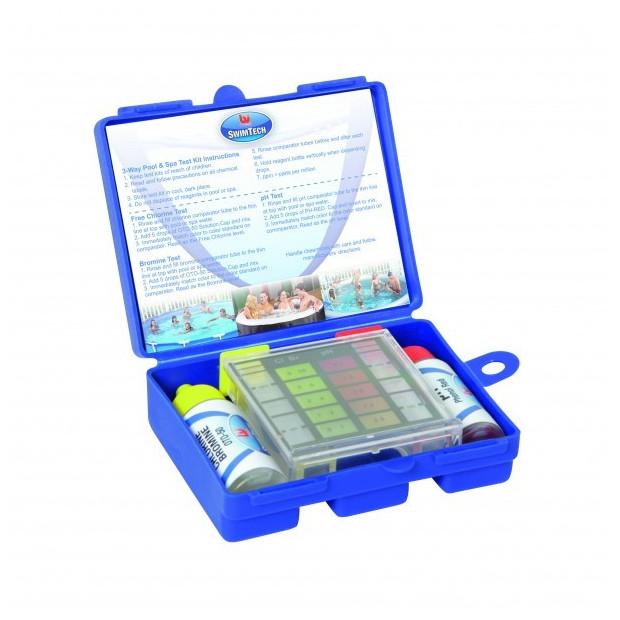 Tester vody v bazénu Bestway pH a Cl