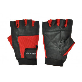 Fitness rukavice AXERFIT Black/Red