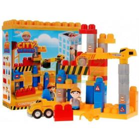 Dětská stavebnice Mega City 45 kostek