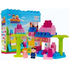 Dětská stavebnice Mega Palác 40 kostek
