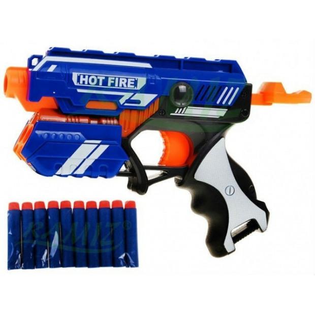 Pistole Blaze Storm s 10-ti pěnovými náboji