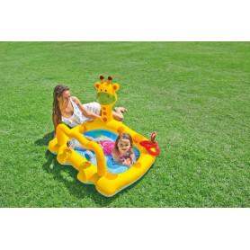 Dětský bazének smějící se žirafa 57105