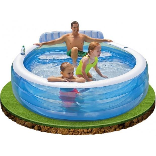 Bazén nafukovací Intex Family center