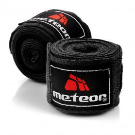 Boxerské bandáže Meteor Black 4 m
