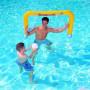 Nafukovací branka na vodní polo Bestway je perfektní pro zábavu do teplých dnů. Ideální pro děti od 3 let.