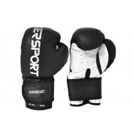 Boxerské rukavice Axer Sport black 12 oz