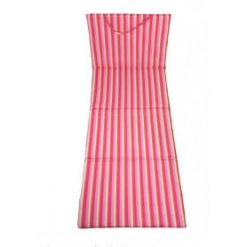 Skládací plážové lehátko Sedco růžové
