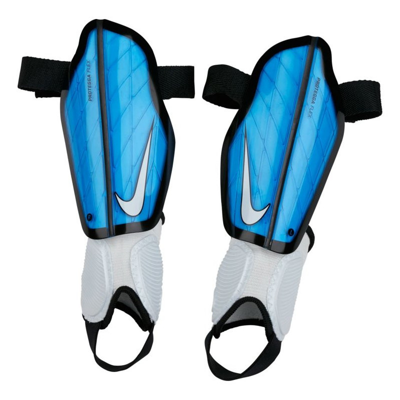 Fotbalové chrániče Nike Protegga Flex Junior Blue