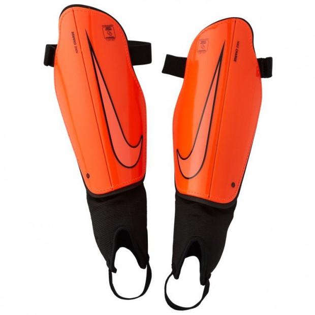 Fotbalové chrániče Nike Charge 2.0 Orange