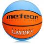 Basketbalový míč Meteor Layup 3 Blue/Orange
