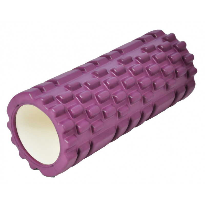 Masážní válec Axerfit Roller Purple 32,5 x 14 cm