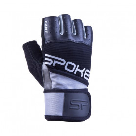 Fitness rukavice Spokey Gant Silver