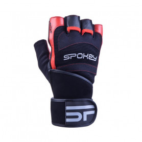 Fitness rukavice Spokey Miton Red