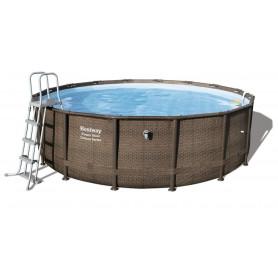 Nadzemní bazén Bestway Deluxe 488 x 122 cm s filtrací
