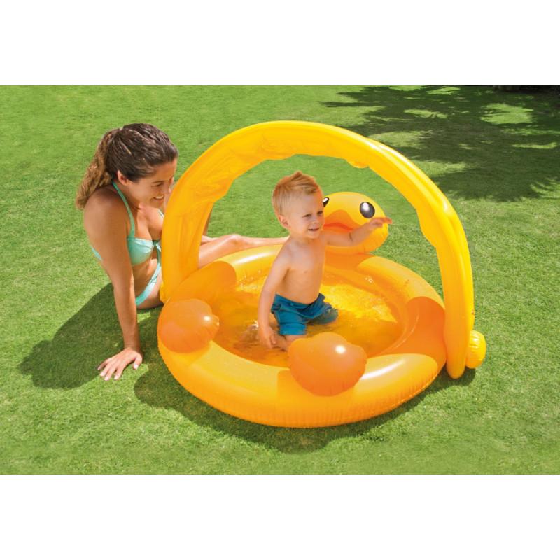 Dětský bazén Intex 57121 Kačenka 117 x 112 x 69 cm