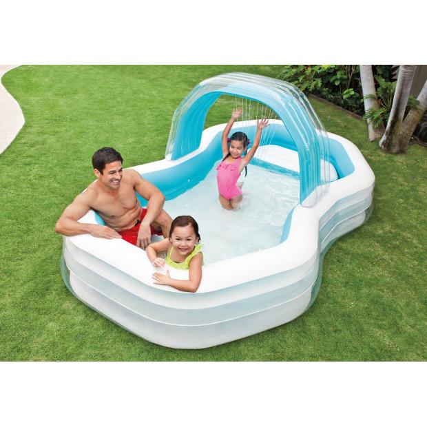 Bazén nafukovací Intex Swim Center Cabana