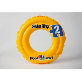 Kruh plavací Intex Deluxe - dvoukomorový