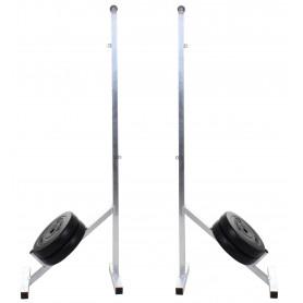 Badmintonové sloupky Merco BS-1.7, přenosné