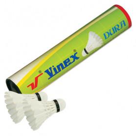 Péřové badmintonové míčky Vinex VSCO-D10 10 ks