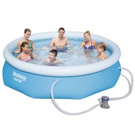 Prstencový bazén Bestway Fast 305 x 76 cm set s filtrací